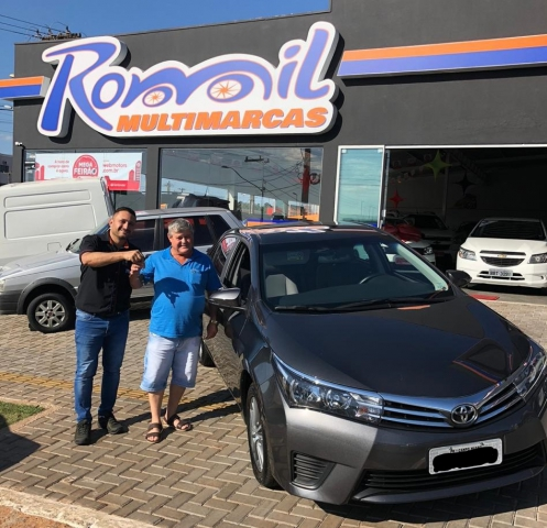 Cliente Romil Multimarcas: Romualdo Foletto - Corolla 2017